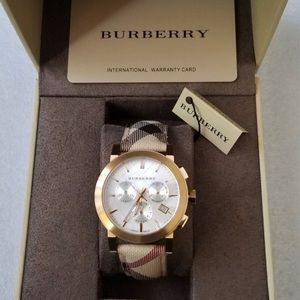 New Burberry the city collection watch